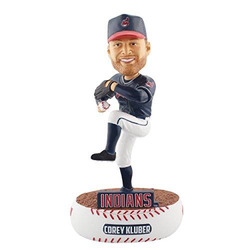 ボブルヘッド バブルヘッド 首振り人形 ボビンヘッド BOBBLEHEAD 【送料無料】FOCO MLB Cleveland Indians Kluber C. #28 Baller Bobble, Team Color, One Sizeボブルヘッド バブルヘッド 首振り人形 ボビンヘッド BOBBLEHEAD