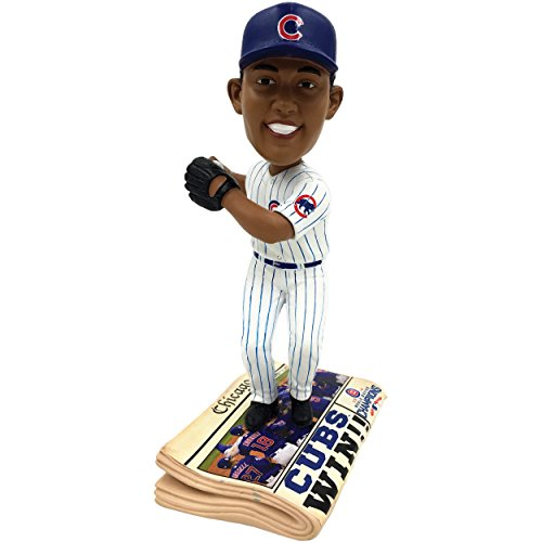 ボブルヘッド バブルヘッド 首振り人形 ボビンヘッド BOBBLEHEAD 【送料無料】Forever Collectibles Chicago Cubs Addison Russell 2016 World Series Champions Newspaper Bobbleheadボブルヘッド バブルヘッド 首振り人形 ボビンヘッド BOBBLEHEAD