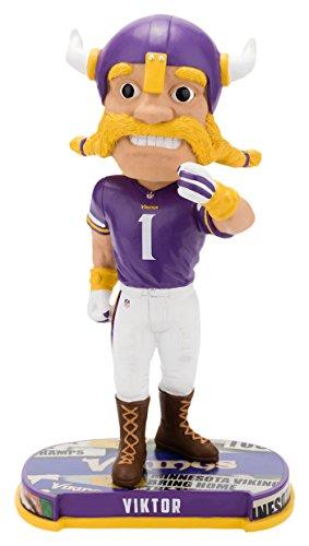 ボブルヘッド バブルヘッド 首振り人形 ボビンヘッド BOBBLEHEAD Forever Collectibles Minnesota Vikings Mascot Minnesota Vikings Headline Bobblehead NFLボブルヘッド バブルヘッド 首振り人形 ボビンヘッド BOBBLEHEAD