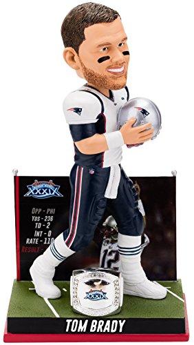 ボブルヘッド バブルヘッド 首振り人形 ボビンヘッド BOBBLEHEAD 【送料無料】Forever Collectibles Tom Brady New England Patriots Super Bowl Special Edition - 3rd Win Bobbleheadボブルヘッド バブルヘッド 首振り人形 ボビンヘッド BOBBLEHEAD