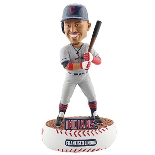 ボブルヘッド バブルヘッド 首振り人形 ボビンヘッド BOBBLEHEAD Forever Collectibles Francisco Lindor Cleveland Indians Baller Special Edition Bobblehead MLBボブルヘッド バブルヘッド 首振り人形 ボビンヘッド BOBBLEHEAD