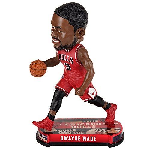 ボブルヘッド バブルヘッド 首振り人形 ボビンヘッド BOBBLEHEAD Dwayne Wade (Chicago Bulls) 2017 NBA Headline Bobble Head by Forever Collectiblesボブルヘッド バブルヘッド 首振り人形 ボビンヘッド BOBBLEHEAD