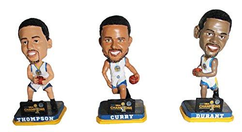 ボブルヘッド バブルヘッド 首振り人形 ボビンヘッド BOBBLEHEAD Golden State Warriors 2017 NBA Champions Mini Bighead Bobble 3-Packボブルヘッド バブルヘッド 首振り人形 ボビンヘッド BOBBLEHEAD