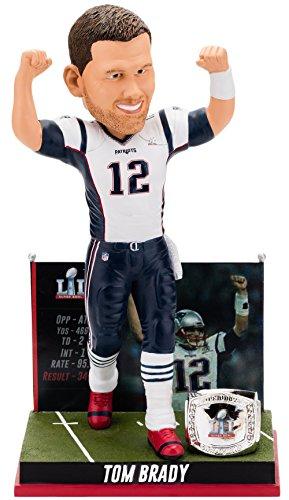 ボブルヘッド バブルヘッド 首振り人形 ボビンヘッド BOBBLEHEAD 【送料無料】Forever Collectibles Tom Brady New England Patriots Super Bowl Special Edition - 5th Win Bobbleheadボブルヘッド バブルヘッド 首振り人形 ボビンヘッド BOBBLEHEAD