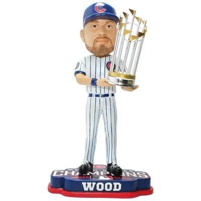 ボブルヘッド バブルヘッド 首振り人形 ボビンヘッド BOBBLEHEAD Forever Collectibles Travis Wood Chicago Cubs 2016 World Series Bobblehead MLBボブルヘッド バブルヘッド 首振り人形 ボビンヘッド BOBBLEHEAD