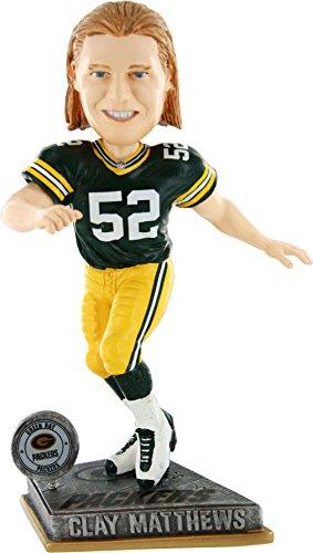 ボブルヘッド バブルヘッド 首振り人形 ボビンヘッド BOBBLEHEAD Forever Collectibles Green Bay Packers Clay Matthews #52 2015 Springy Bobbleheadボブルヘッド バブルヘッド 首振り人形 ボビンヘッド BOBBLEHEAD