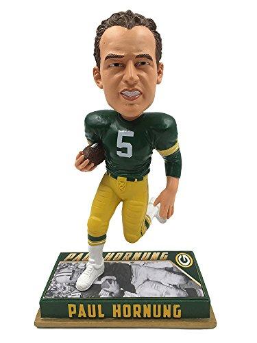 ボブルヘッド バブルヘッド 首振り人形 ボビンヘッド BOBBLEHEAD Forever Collectibles Green Bay Packers Paul Hornung #5 Retired 8