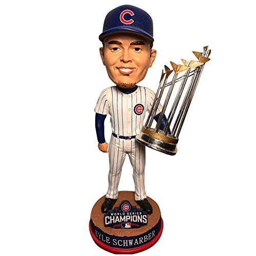 ボブルヘッド バブルヘッド 首振り人形 ボビンヘッド BOBBLEHEAD Forever Collectibles Kyle Schwarber Chicago Cubs 2016 World Series Champions Grocery Bobblehead MLBボブルヘッド バブルヘッド 首振り人形 ボビンヘッド BOBBLEHEAD
