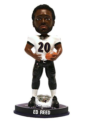 ボブルヘッド バブルヘッド 首振り人形 ボビンヘッド BOBBLEHEAD 【送料無料】Baltimore Ravens Ed Reed Forever Collectibles Super Bowl 47 Champ Ring Bobbleheadボブルヘッド バブルヘッド 首振り人形 ボビンヘッド BOBBLEHEAD