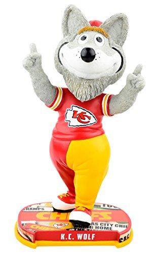ボブルヘッド バブルヘッド 首振り人形 ボビンヘッド BOBBLEHEAD Forever Collectibles Kansas City Chiefs Mascot Kansas City Chiefs Headline Bobblehead NFLボブルヘッド バブルヘッド 首振り人形 ボビンヘッド BOBBLEHEAD
