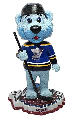 ボブルヘッド バブルヘッド 首振り人形 ボビンヘッド BOBBLEHEAD Louie the Polar Bear Mascot St Louis Blues 2017 NHL Winter Classic Special Edition Bobbleheadボブルヘッド バブルヘッド 首振り人形 ボビンヘッド BOBBLEHEAD