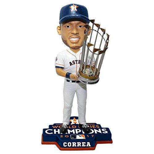 ボブルヘッド バブルヘッド 首振り人形 ボビンヘッド BOBBLEHEAD 【送料無料】Forever Collectibles Carlos Correa Houston Astros 2017 World Series Champions 8