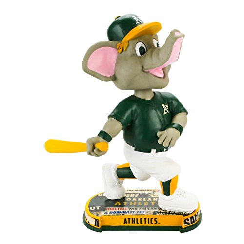 ボブルヘッド バブルヘッド 首振り人形 ボビンヘッド BOBBLEHEAD MLB 2017 Mascot Stomper Oakland Athletics BobbleHead Foreverボブルヘッド バブルヘッド 首振り人形 ボビンヘッド BOBBLEHEAD