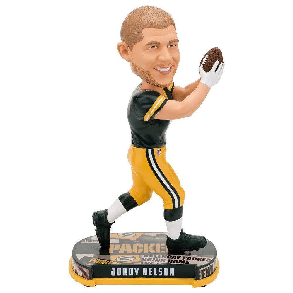 ボブルヘッド バブルヘッド 首振り人形 ボビンヘッド BOBBLEHEAD Forever Collectibles Jordy Nelson Green Bay Packers Headline Special Edition Bobblehead NFLボブルヘッド バブルヘッド 首振り人形 ボビンヘッド BOBBLEHEAD