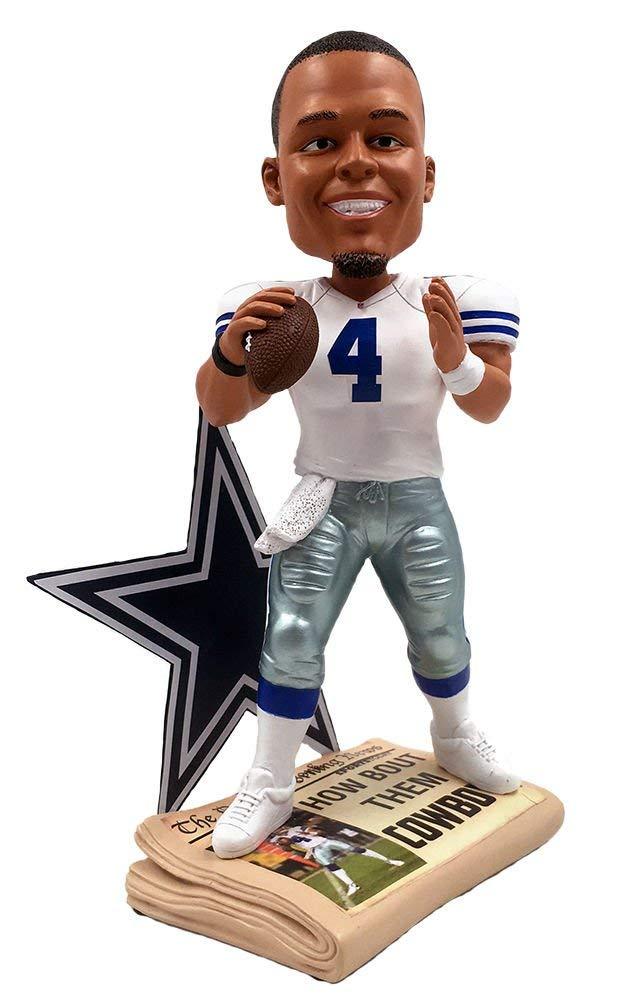 ボブルヘッド バブルヘッド 首振り人形 ボビンヘッド BOBBLEHEAD Dak Prescott Dallas Cowboys Special Edition 10