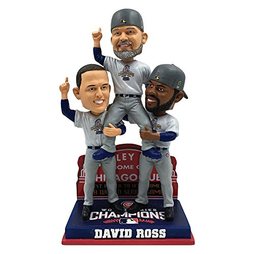 ボブルヘッド バブルヘッド 首振り人形 ボビンヘッド BOBBLEHEAD David Ross Chicago Cubs 2016 World Series Special Edition Carrying Off Field Bobbleheadボブルヘッド バブルヘッド 首振り人形 ボビンヘッド BOBBLEHEAD