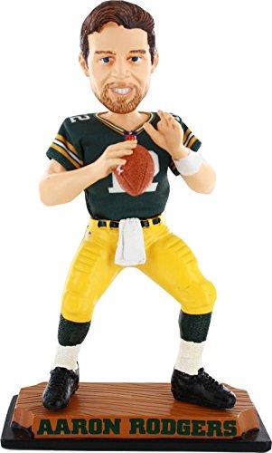 ボブルヘッド バブルヘッド 首振り人形 ボビンヘッド BOBBLEHEAD Forever Collectibles Aaron Rodgers Green Bay Packers Real Bobble Headボブルヘッド バブルヘッド 首振り人形 ボビンヘッド BOBBLEHEAD