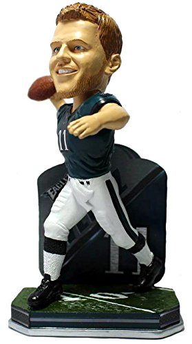 ボブルヘッド バブルヘッド 首振り人形 ボビンヘッド BOBBLEHEAD 【送料無料】Forever Collectibles Carson Wentz Philadelphia Eagles Special Edition Name and Number Bobblehead NFLボブルヘッド バブルヘッド 首振り人形 ボビンヘッド BOBBLEHEAD