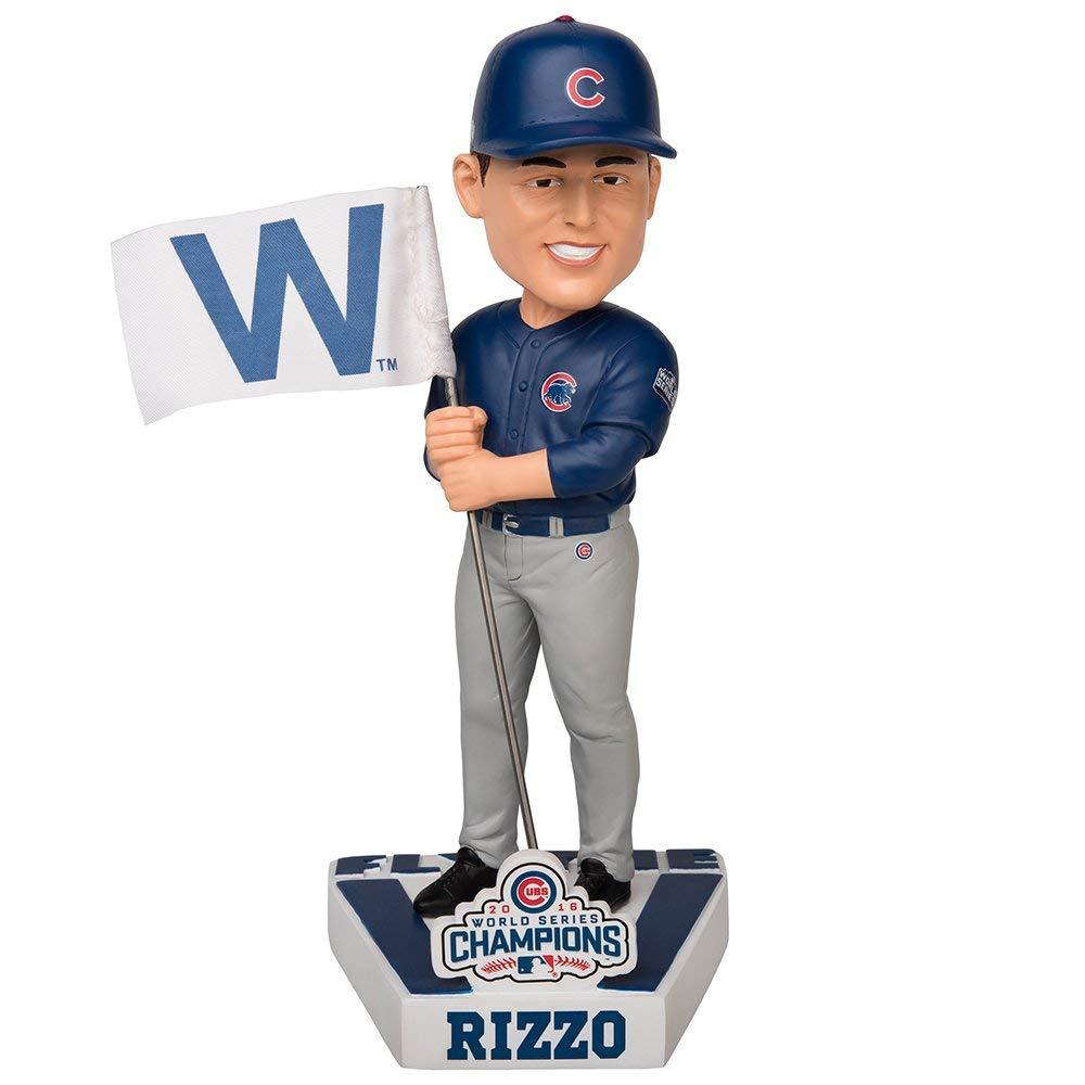 ボブルヘッド バブルヘッド 首振り人形 ボビンヘッド BOBBLEHEAD Anthony Rizzo Chicago Cubs 2016 World Series W Flag Special Edition Bobbleheadボブルヘッド バブルヘッド 首振り人形 ボビンヘッド BOBBLEHEAD