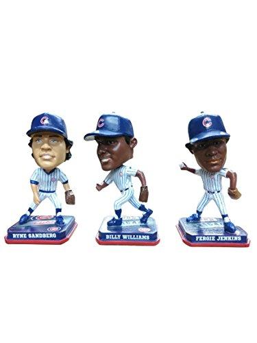 ボブルヘッド バブルヘッド 首振り人形 ボビンヘッド BOBBLEHEAD Forever Collectibles Chicago Cubs Ryne Sandberg, Billy Williams, Fergie Jenkins Mini Bobblehead Setボブルヘッド バブルヘッド 首振り人形 ボビンヘッド BOBBLEHEAD