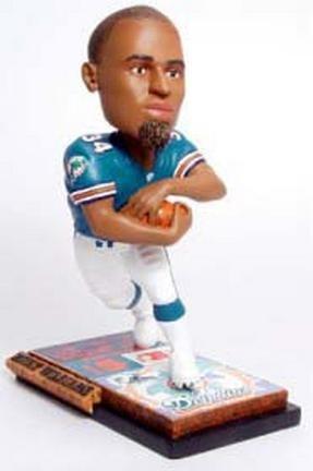 ボブルヘッド バブルヘッド 首振り人形 ボビンヘッド BOBBLEHEAD Forever Collectibles NFL Miami Dolphins Mens Miami Dolphins Ricky Williams Ticket Base Bobblehead, Team Colors One Sizeボブルヘッド バブルヘッド 首振り人形 ボビンヘッド BOBBLEHEAD