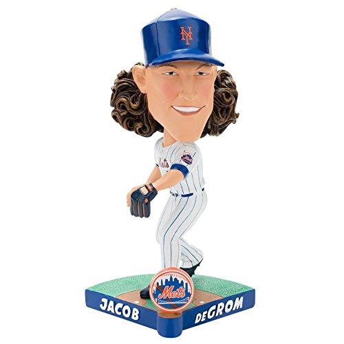 ボブルヘッド バブルヘッド 首振り人形 ボビンヘッド BOBBLEHEAD Forever Collectibles Jacob deGrom New York Mets Special Edition Caricature Bobblehead MLBボブルヘッド バブルヘッド 首振り人形 ボビンヘッド BOBBLEHEAD