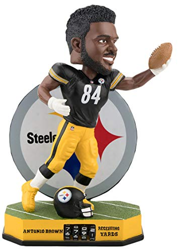 ボブルヘッド バブルヘッド 首振り人形 ボビンヘッド BOBBLEHEAD Antonio Brown Pittsburgh Steelers Fantasy Football Receiving Yards Tracker Bobbleheadボブルヘッド バブルヘッド 首振り人形 ボビンヘッド BOBBLEHEAD