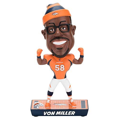 ボブルヘッド バブルヘッド 首振り人形 ボビンヘッド BOBBLEHEAD Forever Collectibles NFL Denver Broncos Mens Denver Broncos Bobble Caricature Style Von Miller Designdenver Broncos Bobble Caricボブルヘッド バブルヘッド 首振り人形 ボビンヘッド BOBBLEHEAD