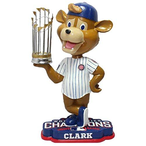 ボブルヘッド バブルヘッド 首振り人形 ボビンヘッド BOBBLEHEAD Chicago Cubs Clark Mascot 2016 World Series Champions Bobbleheadボブルヘッド バブルヘッド 首振り人形 ボビンヘッド BOBBLEHEAD