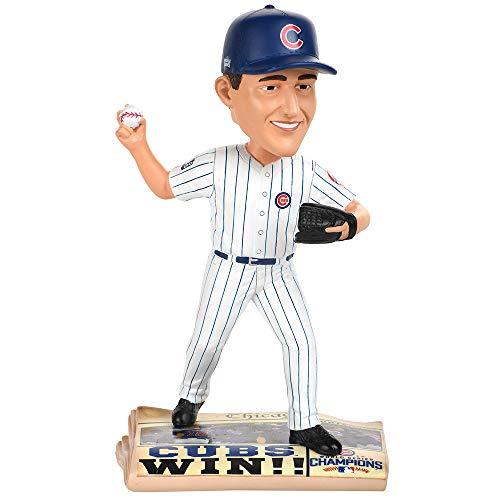 ボブルヘッド バブルヘッド 首振り人形 ボビンヘッド BOBBLEHEAD 【送料無料】Forever Collectibles Kyle Hendricks Chicago Cubs 2016 World Series Newspaper Base Bobblehead MLBボブルヘッド バブルヘッド 首振り人形 ボビンヘッド BOBBLEHEAD