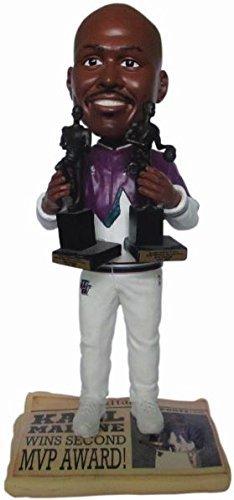 ボブルヘッド バブルヘッド 首振り人形 ボビンヘッド BOBBLEHEAD Forever Collectibles Karl Malone (Utah Jazz) 2X MVP Trophy Newspaper Base NBA Legends Bobble Headボブルヘッド バブルヘッド 首振り人形 ボビンヘッド BOBBLEHEAD
