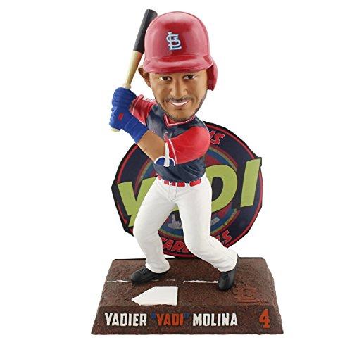ボブルヘッド バブルヘッド 首振り人形 ボビンヘッド BOBBLEHEAD Forever Collectibles Yadier Molina St Louis Cardinals Players Weekend - Yadi Bobblehead MLBボブルヘッド バブルヘッド 首振り人形 ボビンヘッド BOBBLEHEAD
