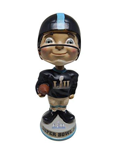 ボブルヘッド バブルヘッド 首振り人形 ボビンヘッド BOBBLEHEAD Super Bowl LII 52 Vintage Classic Football Limited Edition Bobblehead - New England Patriots vs. Philadelphia Eaglesボブルヘッド バブルヘッド 首振り人形 ボビンヘッド BOBBLEHEAD