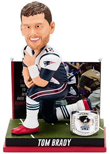 ボブルヘッド バブルヘッド 首振り人形 ボビンヘッド BOBBLEHEAD 【送料無料】Forever Collectibles Tom Brady New England Patriots Super Bowl Special Edition - 4h Win Bobbleheadボブルヘッド バブルヘッド 首振り人形 ボビンヘッド BOBBLEHEAD