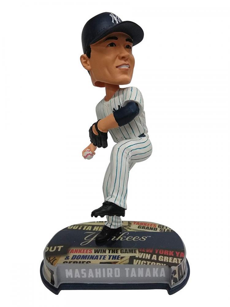 ボブルヘッド バブルヘッド 首振り人形 ボビンヘッド BOBBLEHEAD Forever Collectibles Masahiro Tanaka New York Yankees Special Edition Headline Bobbleheadボブルヘッド バブルヘッド 首振り人形 ボビンヘッド BOBBLEHEAD