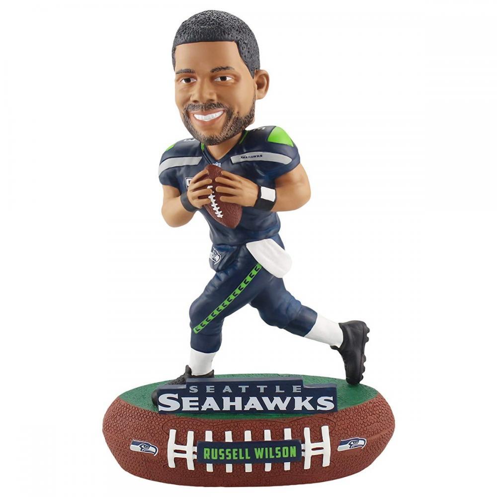 ボブルヘッド バブルヘッド 首振り人形 ボビンヘッド BOBBLEHEAD Forever Collectibles Russell Wilson Seattle Seahawks Baller Special Edition Bobblehead NFLボブルヘッド バブルヘッド 首振り人形 ボビンヘッド BOBBLEHEAD