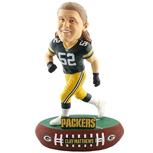 ボブルヘッド バブルヘッド 首振り人形 ボビンヘッド BOBBLEHEAD Forever Collectibles Clay Matthews Green Bay Packers Baller Special Edition Bobblehead NFLボブルヘッド バブルヘッド 首振り人形 ボビンヘッド BOBBLEHEAD