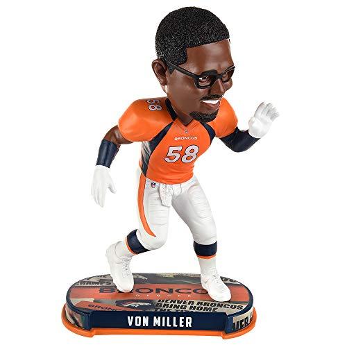 ボブルヘッド バブルヘッド 首振り人形 ボビンヘッド BOBBLEHEAD Forever Collectibles Von Miller Denver Broncos Headline Special Edition Bobblehead NFLボブルヘッド バブルヘッド 首振り人形 ボビンヘッド BOBBLEHEAD