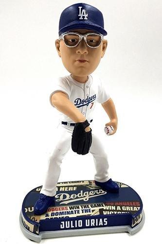 ボブルヘッド バブルヘッド 首振り人形 ボビンヘッド BOBBLEHEAD Forever Collectibles Julio Urias Los Angeles Dodgers Headline Special Edition Bobblehead MLBボブルヘッド バブルヘッド 首振り人形 ボビンヘッド BOBBLEHEAD