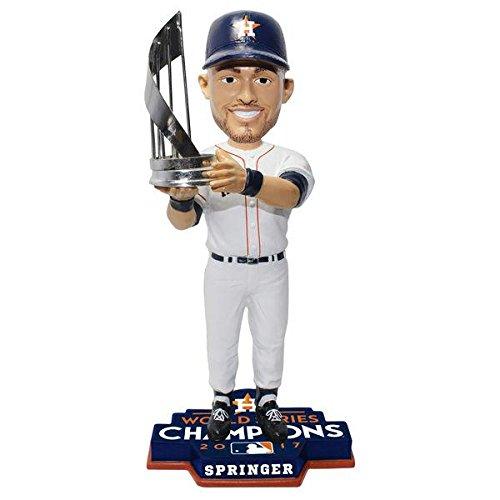 ボブルヘッド バブルヘッド 首振り人形 ボビンヘッド BOBBLEHEAD 【送料無料】Forever Collectibles George Springer Houston Astros 2017 World Series 10