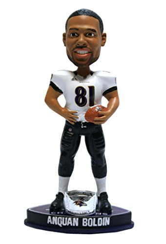 ボブルヘッド バブルヘッド 首振り人形 ボビンヘッド BOBBLEHEAD 【送料無料】Forever Collectibles - Baltimore Ravens Anquan Boldin Forever Collectibles Super Bowl 47 Champ Ring Bobble Heaボブルヘッド バブルヘッド 首振り人形 ボビンヘッド BOBBLEHEAD