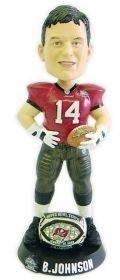 ボブルヘッド バブルヘッド 首振り人形 ボビンヘッド BOBBLEHEAD Tampa Bay Buccaneers Brad Johnson Super Bowl 37 Ring Forever Collectibles Bobble Head by Forever Collectiblesボブルヘッド バブルヘッド 首振り人形 ボビンヘッド BOBBLEHEAD
