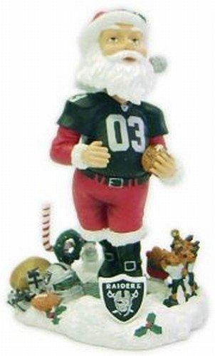 ボブルヘッド バブルヘッド 首振り人形 ボビンヘッド BOBBLEHEAD Oakland Raiders Santa Claus Forever Collectibles Bobble Head by Forever Collectiblesボブルヘッド バブルヘッド 首振り人形 ボビンヘッド BOBBLEHEAD