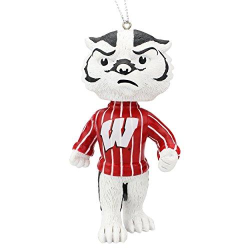 ボブルヘッド バブルヘッド 首振り人形 ボビンヘッド BOBBLEHEAD 【送料無料】Forever Collectibles Bucky Badgers Wisconsin Badgers Ornament Bobblehead Ornamentボブルヘッド バブルヘッド 首振り人形 ボビンヘッド BOBBLEHEAD