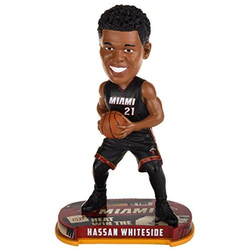ボブルヘッド バブルヘッド 首振り人形 ボビンヘッド BOBBLEHEAD Hassan Whiteside NBA Miami Heat Legends of the Court Bobble Headボブルヘッド バブルヘッド 首振り人形 ボビンヘッド BOBBLEHEAD