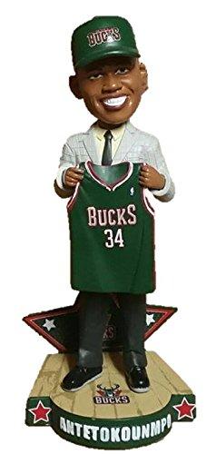 ボブルヘッド バブルヘッド 首振り人形 ボビンヘッド BOBBLEHEAD Giannis Antetokounmpo Milwaukee Bucks 2013 NBA Draft Day Bobbleheadボブルヘッド バブルヘッド 首振り人形 ボビンヘッド BOBBLEHEAD