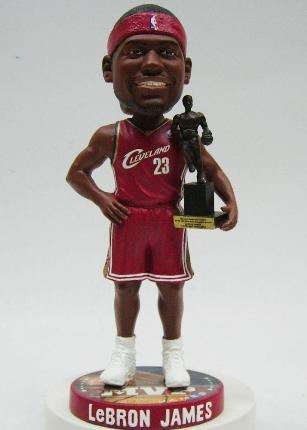 ボブルヘッド バブルヘッド 首振り人形 ボビンヘッド BOBBLEHEAD FOREVER Lebron James Cleveland Cavaliers 2009 MVP Bobble Headボブルヘッド バブルヘッド 首振り人形 ボビンヘッド BOBBLEHEAD