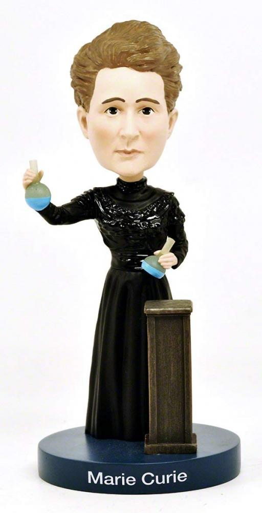 ボブルヘッド バブルヘッド 首振り人形 ボビンヘッド BOBBLEHEAD Royal Bobbles Marie Curie Bobblehead with Glow-in-the-Dark Lab Beakersボブルヘッド バブルヘッド 首振り人形 ボビンヘッド BOBBLEHEAD