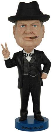 ボブルヘッド バブルヘッド 首振り人形 ボビンヘッド BOBBLEHEAD Royal Bobbles Winston Churchill V1 Bobbleheadボブルヘッド バブルヘッド 首振り人形 ボビンヘッド BOBBLEHEAD