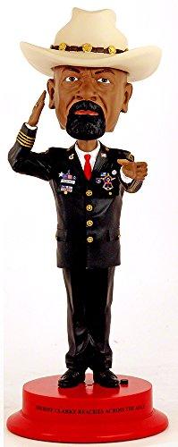 ボブルヘッド バブルヘッド 首振り人形 ボビンヘッド BOBBLEHEAD Royal Bobbles Sheriff Clarke 12